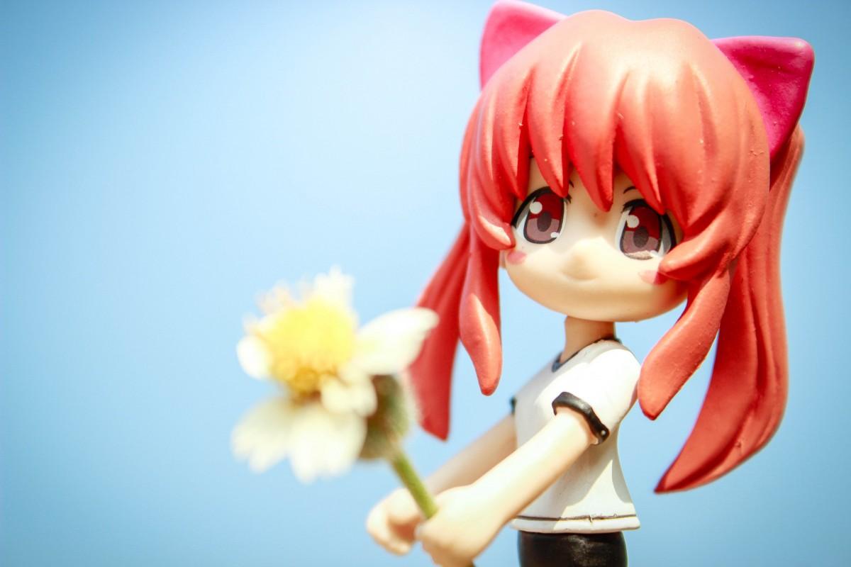 anime girl toy