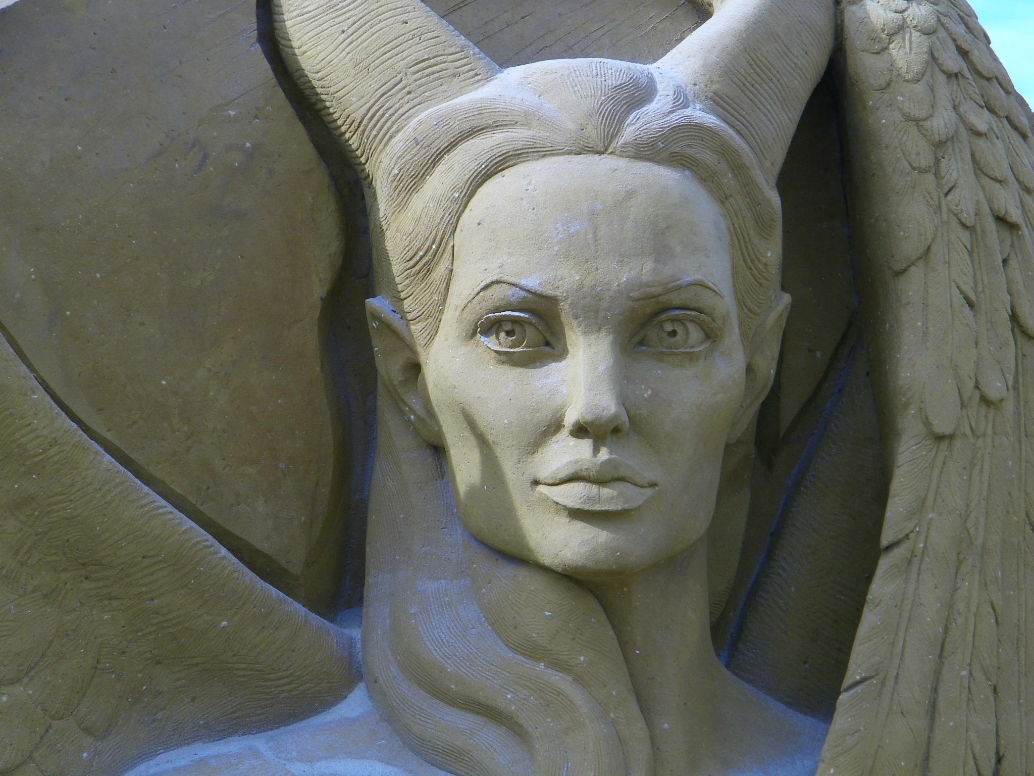 maleficent statue