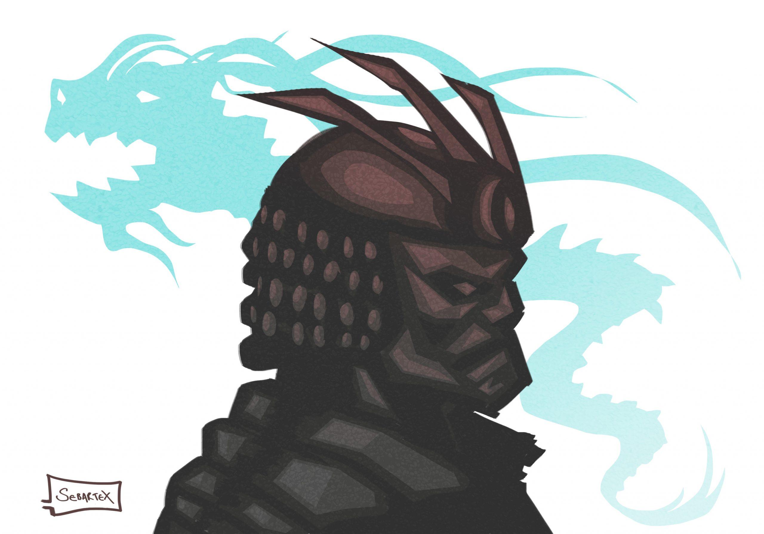samurai warrior concept