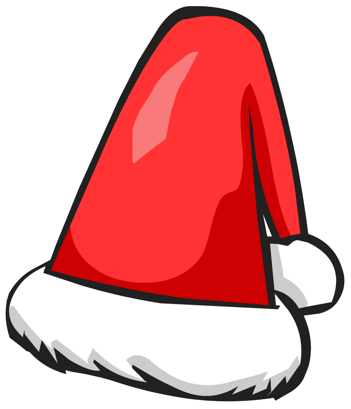 santa hat cartoon