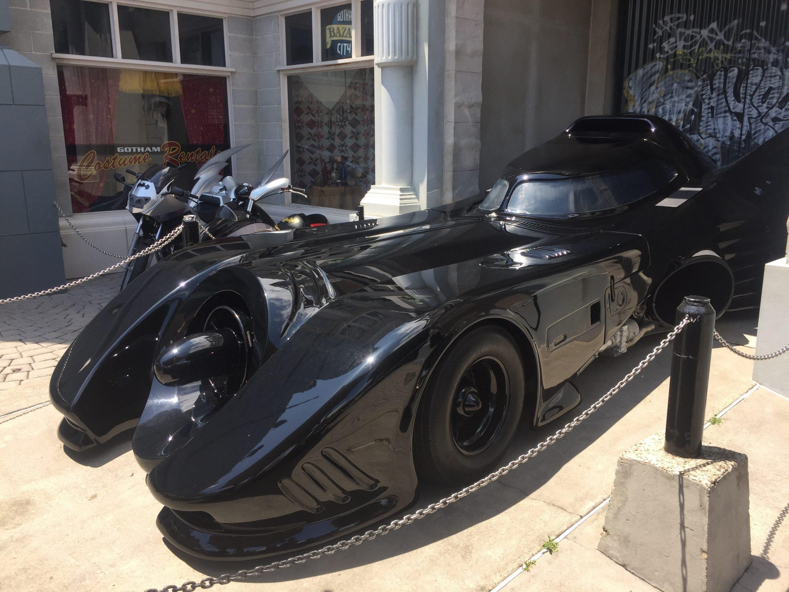 batman super car