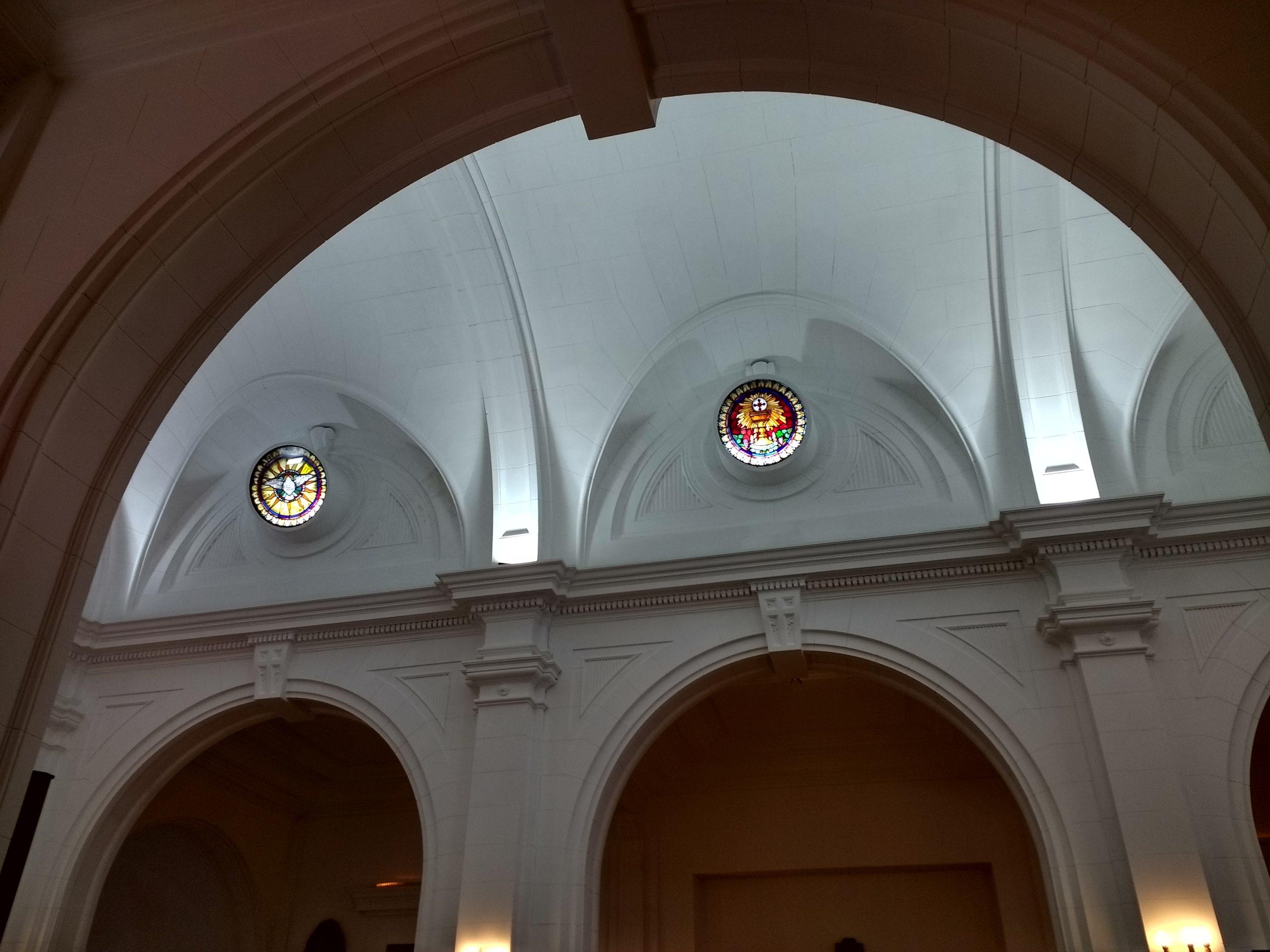 church interior a