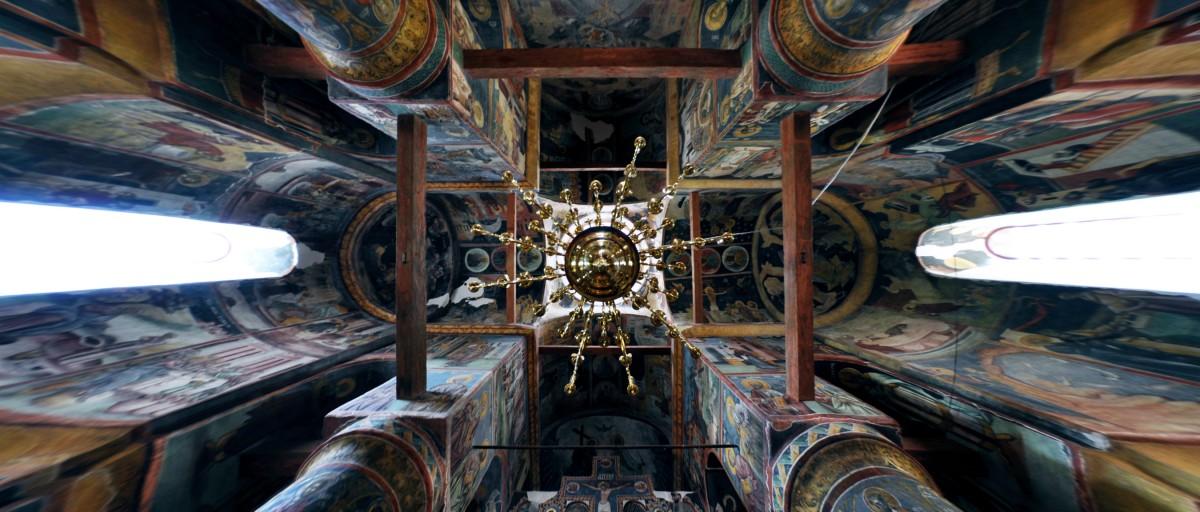 church ceiling greek