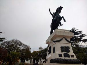 San Martin monument