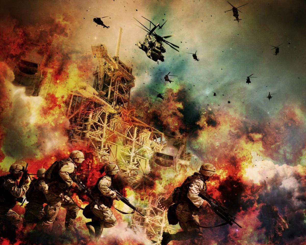 war explosions