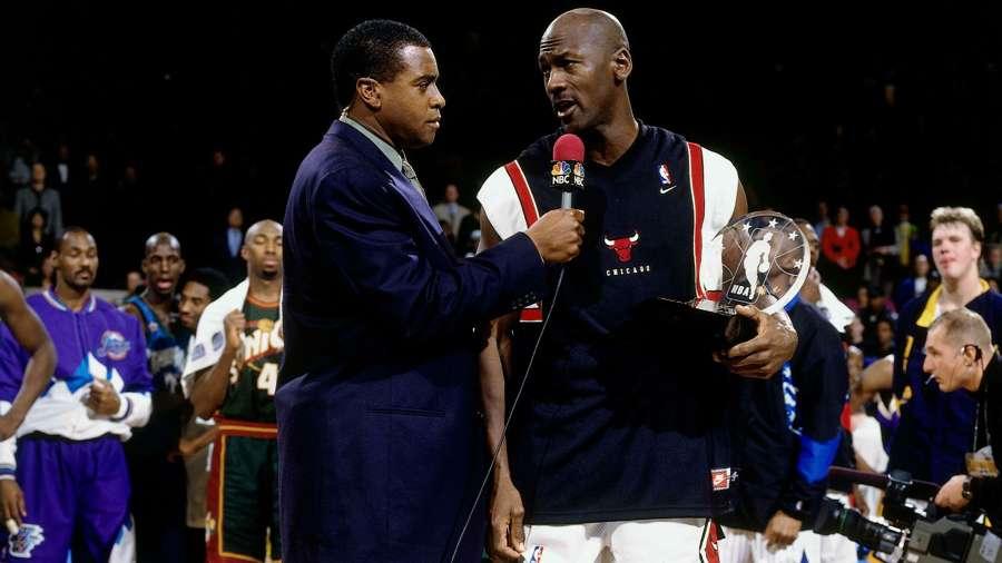 Michael Jordan interview